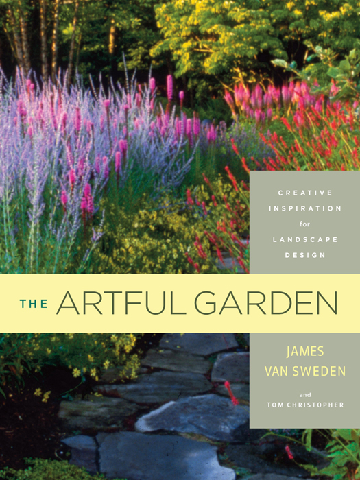 Book cover The artful garden: creative inspiration for landscape design